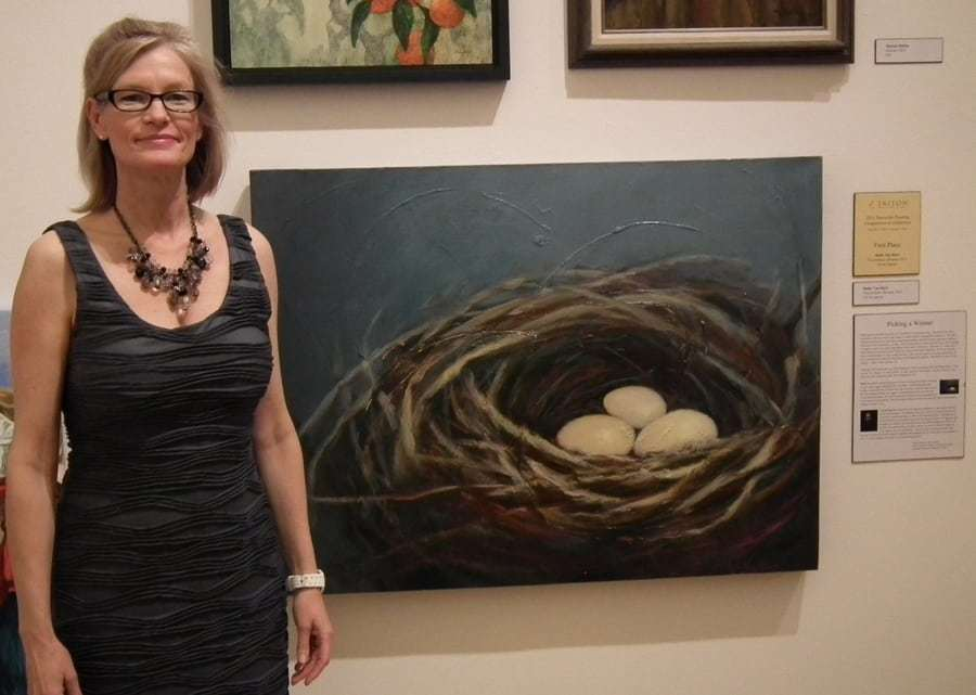 West Valley Artist Wins Statewide Painting Competition