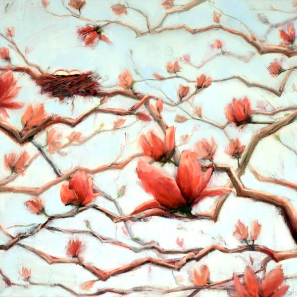 'Possibilities In Full Bloom', Oil Painting By Holly Van Hart
