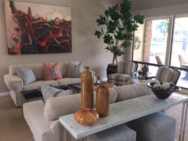 Larger Than Life, Oil Painting By Holly Van Hart, Installed In The Collector's Home