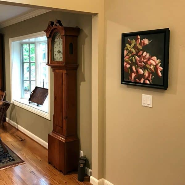 Blooms AboundingOil Painting By Holly Van HartIn Collector's Home
