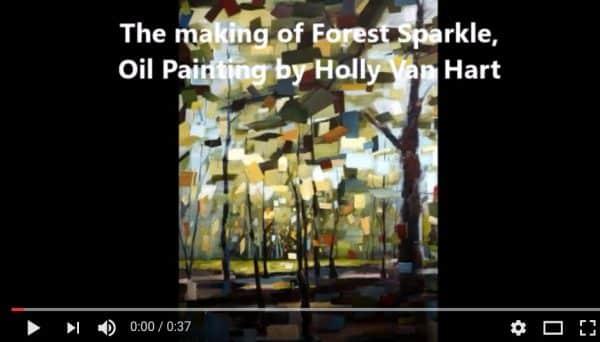 Artist Holly Van Hart | Videos | Painting demos, artist talks, museum tours and more