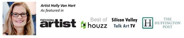 Holly Van Hart | Huffington Post | Professional Artist Magazine | Silicon Valley TV | Best of Houzz