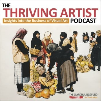 Holly Van Hart interviewed by Clark Hulings Fund Thriving Artist Podcast