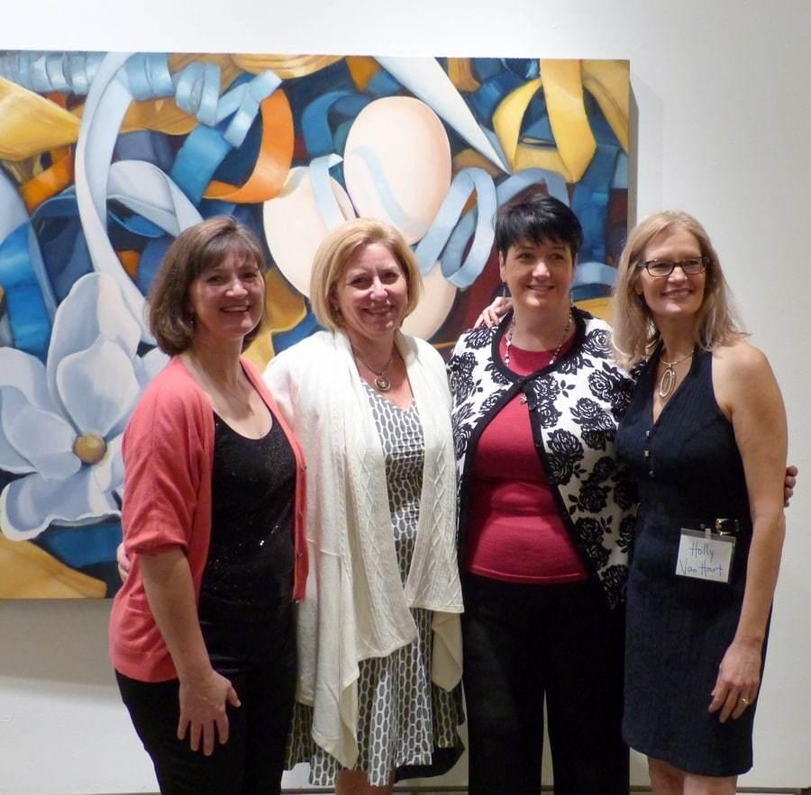 Solo Exhibition, Triton Museum Of Art, Holly Van Hart