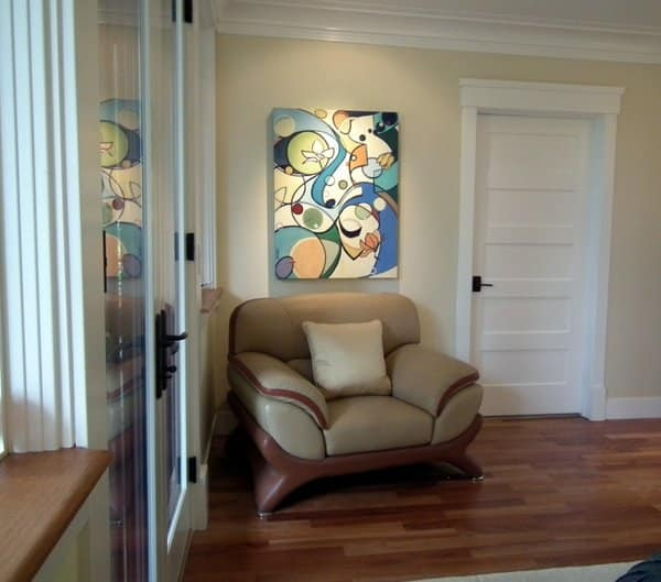 'Flourishing', Oil Painting By Holly Van Hart, Installed