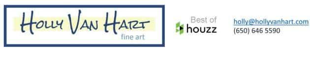 Holly Van Hart fine art, Best of Houzz award, hollyvanhart.com
