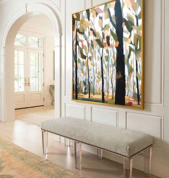 Circling Of The Seasons, Mixed Media Painting By Holly Van Hart | Best Of Houzz, Featured In Professional Artist Magazine
