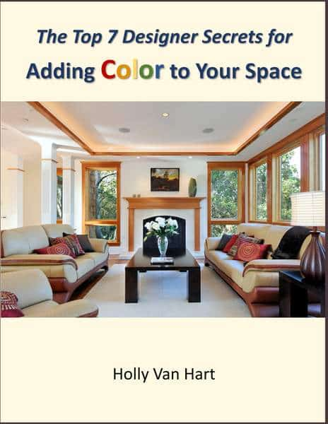 The Top 7 Designer Secrets for Adding Color to Your Space, by artist Holly Van Hart