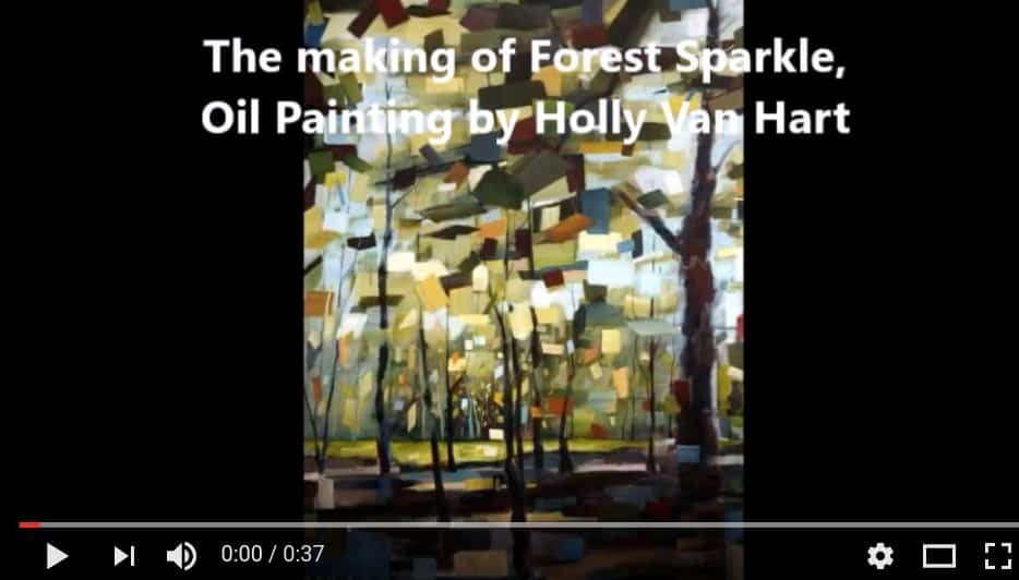 Artist Holly Van Hart | Videos | Painting Demos, Artist Talks, Museum Tours And More