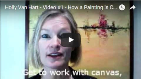 Holly Van Hart - How A Painting Is Created - COVER