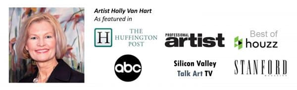 Holly Van Hart in the news | American Artist | Huffington Post | ABC | Stanford Magazine | Professional Artist Magazine | Silicon Valley TV | Best of Houzz