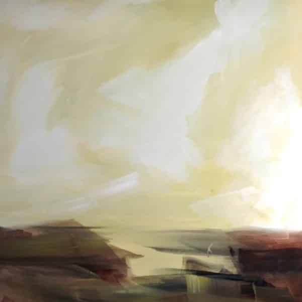New landscape painting by Holly Van Hart