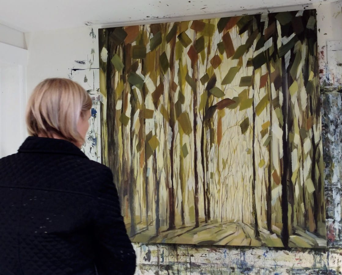 New tree painting Standing Tall
