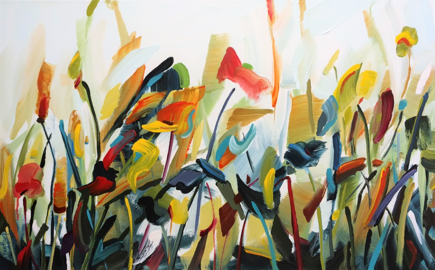 floral paintings by acclaimed artist holly van hart