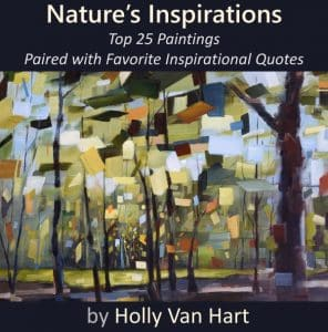 Art book by Holly Van Hart | Nature's Inspirations