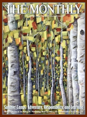 Artwork: Tree painting featured on the cover of The Monthly | Forest Reverie by artist Holly Van Hart